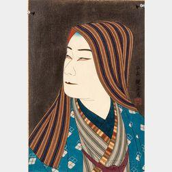 Yoshikawa Kanpo (1894-1979) Woodblock Print