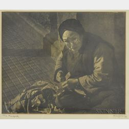 H. Leo Gould (American, 20th Century)      The Mender