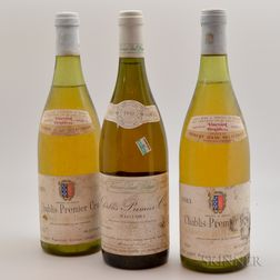 Mixed Chablis, 3 bottles