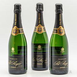 Pol Roger Brut 2006, 3 bottles