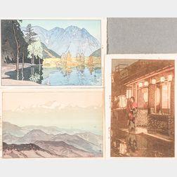 Hiroshi Yoshida (1876-1950), Three Woodblock Prints