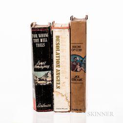 Three First Edition Works of Modern Literature.