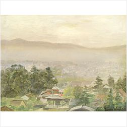 Theodore Wores (American, 1859-1939)  Hazy Morning in Kyoto