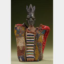 African Carved Wood Ibeji Doll