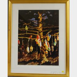 "James ""Jamie"" Browning Wyeth (American, b. 1946)      Buoy Tree"
