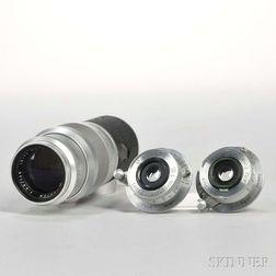 Three Leica Screw-mount Lenses