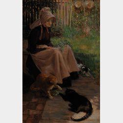 Elizabeth Fearne Bonsall (American, 1861-1956)      Catnip