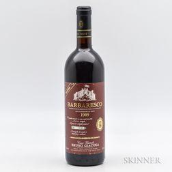 B. Giacosa Barbaresco Santo Stefano Riserva 1989, 1 bottle