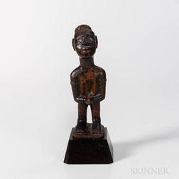 Standing Bakongo Fetish Figure