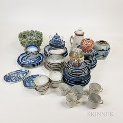 Large Group of Chinese Export Porcelain