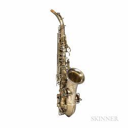"Alto Saxophone, Martin Handcraft Master ""Typewriter,"" 1929"
