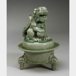 Celadon Incense Burner