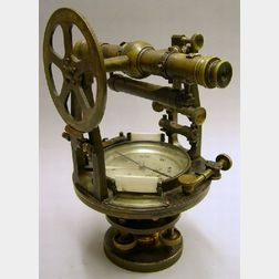 Brass Theodolite by Young & Sons