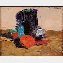 Margaret Jordan Patterson  (American, 1867-1950)      Still Life with Fruit