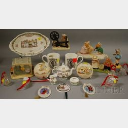 Twenty Assorted Royal Doulton Ceramic and Miscellaneous Collectible Ceramic   Figures and Items