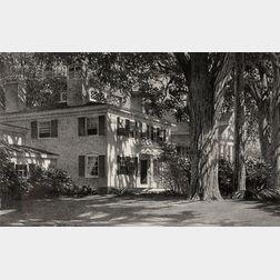 Stow Wengenroth (American, 1906-1978)      Sunlight, Wiscasset (Maine)