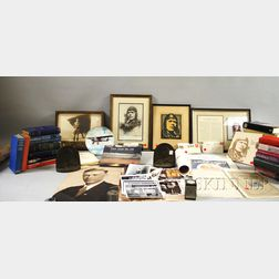 Large Lot of Charles A. Lindbergh-related Ephemera, Collectibles, Etc.     Estimate $200-300