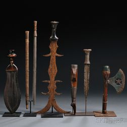 Five African Weapons