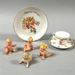 Small Group of Kewpie Items