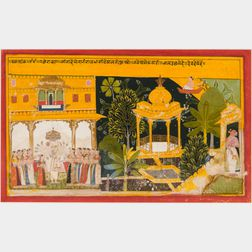 Painting from the Ramayana
