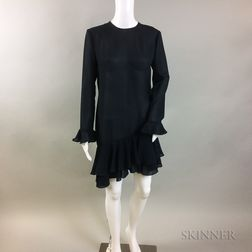Fiandaca Navy Silk Tunic