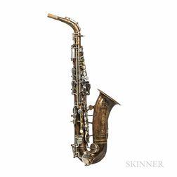 Alto Saxophone, Martin Handcraft Committee II, 1939