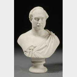 Copeland Parian Bust of Prince Albert