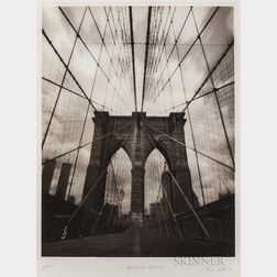 Tom Baril (American, b. 1952)      Brooklyn Bridge