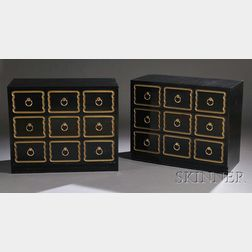 Pair of Espana Bunching Chests Attributed to Dorothy Draper for Heritage