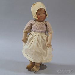 Martha Chase-type Dutch Girl Doll
