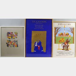 Collection of Gallery Exhibition Posters