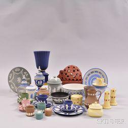 Thirty-six Modern Jasper Items