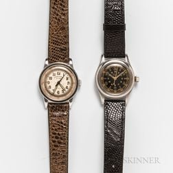 Two Early Manual-wind Wristwatches