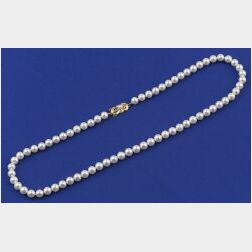 Strand of Cultured Pearls