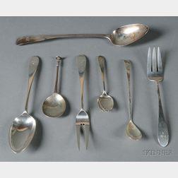Group of Twenty Arthur Stone/Stone Associates Sterling Flatware Items