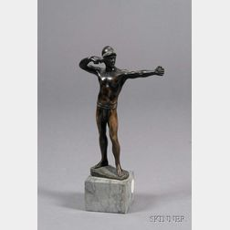 Small Bronze Figure of an Archer