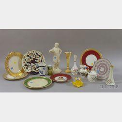 Seventeen Assorted Decorated Ceramic Items
