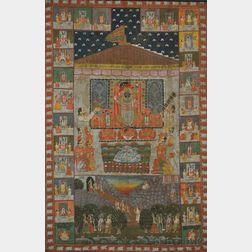 Temple Panel