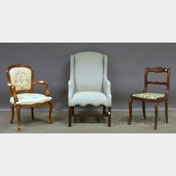 Three Assorted Decorative Chairs