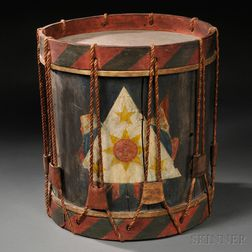 Rope Tension Military Snare Drum