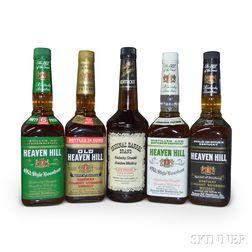 Mixed Bourbon, 8 750ml bottles1 liter bottle