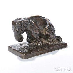 Gregory Allen (American, 1884-1934)       Bronze Figure of an Elephant