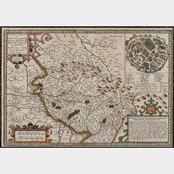 Europe, Three Framed Maps.