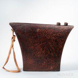 African Wood Slit Drum