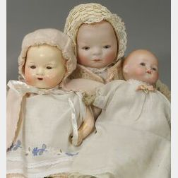Three German Baby Dolls