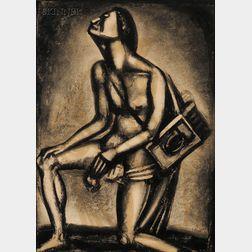 Georges Rouault (French, 1871-1958)      Sunt Lacrimae Rerum...