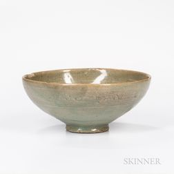Sanggam-inlaid Celadon Bowl