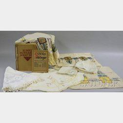 Ten Arts & Crafts Textiles,   Elbert Hubbard Scrapbook, and Little Journeys Book