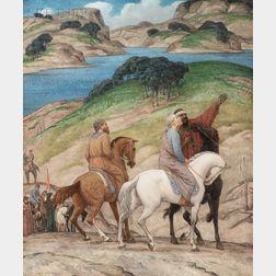 Bryson (Henry Bryson) Burroughs (American, 1869-1934)      Three Wise Men