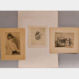 Three European Prints